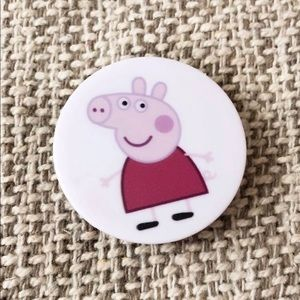 New Peppa Pig Pop Up Socket Phone Stand Holder
